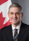 Ambassador Extraordinary and Plenipotentiary of Canada in Latvia H.E. Dr. Alain Hausser